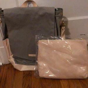 Brand new Leader Bag Co diaper bag set